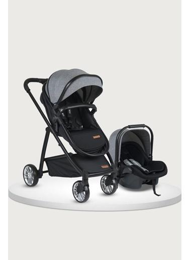 Tommy Baby Quantum Black New Travel (Seyahat) Sistem Bebek Arabası Gri